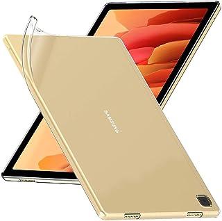 ebestStar   kompatibel mit Samsung Galaxy Tab A7 10.4 Hülle T505 (2020) Handyhülle [Ultra Dünn], Durchsichtige Klar TPU Schutzhülle, Flex Silikon, Transparent [Tab S7: 247.6x157.4x7 mm 10.4']