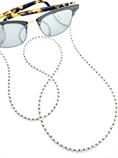 Zoya Gems & Jewellery Pearls with Olive Mask & Sunglass Chain (2 in 1)