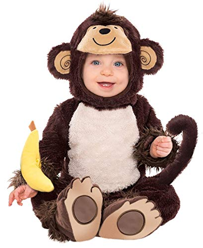 Amscan 841543 Baby Monkey Costume Costume 12-24 Months Old