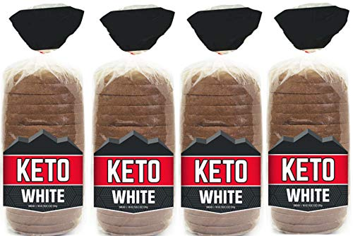 Keto Bread Zero Net Carb Low Carb Food - Keto-Friendly 4g Protein per Slice - Great for Your Keto Diet - 2 Bread Loaves Included (2)