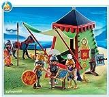 playmobil romanos campamento