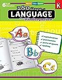 "180 Days of Language for Kindergarten €"" Build Grammar Skills and Boost Reading Comprehension Skills with this Kindergarten Workbook (180 Days of Practice)"