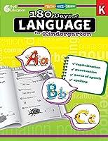 180 Days of Language for Kindergarten (Practice, Assess, Diagnose, Level K)