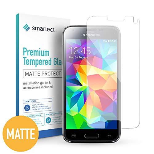smartect Mattes Panzerglas kompatibel mit Samsung Galaxy S5 Mini [MATT] - Displayschutz mit 9H Härte - Blasenfreie Schutzfolie - Anti Fingerprint Panzerglasfolie