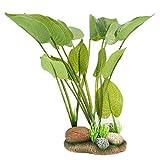 Jeanoko Plantas de agua artificiales Peces Paisaje de los tanques de peces para los tanques de peces(plantas de agua de