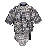 MAJOZ0 Interceptor Modular Tactics Vest,Plate Carrier Tactical Vest,Multifunctional Breathable Molle Vest for Airsoft