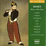 Art & Music: Manet-Music of His Time
