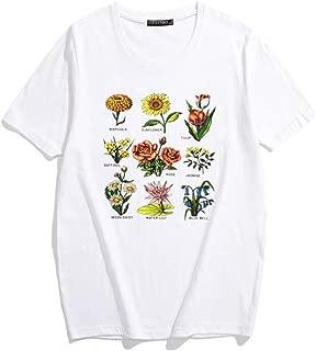 flower chart tee