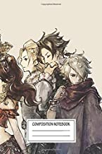Notebook: Travelers Octopath Traveler® , Journal for Writing, Size 6