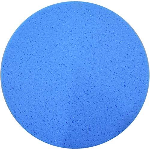 ROKAMAT Schwammscheibe blau mit Klett Ø350mm - Zubehörscheibe für ROKAMAT Filzmaschinen DRY, WET, AKKU-FILZ, NAUTILO und PFM5