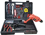 Cheston Powerful Impact Drill Machine Cum Screwdriver Kit 13mm Chuck with 101 Pieces Tools and Accessories for Drilling; Screw-Driving