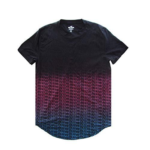 Hollister California Men's Short Sleeve Graphic T-Shirt (Black Multi Logo, Extra Small)