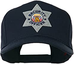 e4Hats.com USA Security Officer Patched High Profile Cap - Navy OSFM