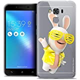 Caseink Coque pour ASUS Zenfone 3 Max Plus ZC553KL (5.5) The Lapins Crétins® [Collection...