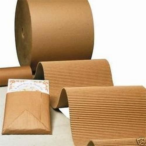 Rollo de carton ondulado 100cm x 50 metros, 1mx50m