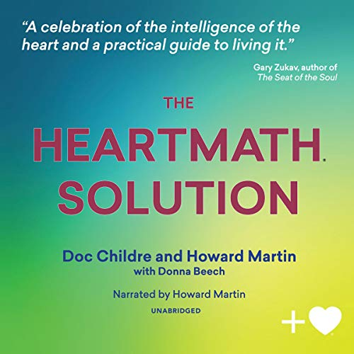 The HeartMath Solution audiobook cover art