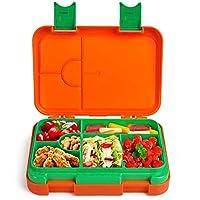 Anpro Bento Box Kinder Lunchbox - Brotbox Kinder Spülmaschinegeeignet, Brotdose mit Variablen Fächern für Kindergarten, Schule, Arbeit, Picknick und Reisen