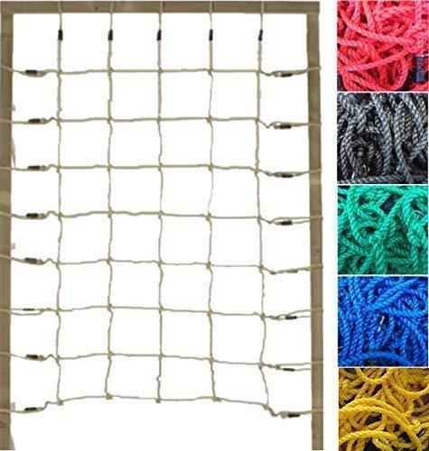 Loggyland Kletternetz 2m hoch, Verschiedene Breiten und Netzfarben zur Auswahl (Breite 150cm)