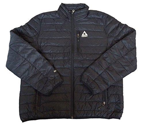 Gerry Men's Replay Packable Down Jacket, Black, Large