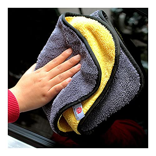 LAIQIAN Toalla de Coches Toallas De Microfibra, Toallas Fit for Detalles De Automóviles, Fit for Limpieza del Hogar Y Lavado De Automóviles (Color : 40X30CM, Material : Superfine Fiber)