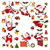 クリスマスステッカー ウォールステッカー クリスマス サンタ 壁紙シール サンタクロース ステッカー 雰囲気満点クリスマス飾り170PCS
