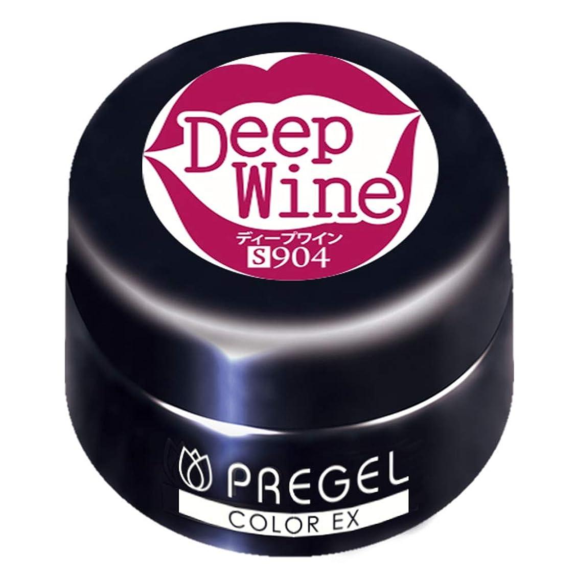 要件閉塞ラッカスPRE GEL カラーEX ディープワイン 3g PG-CE904