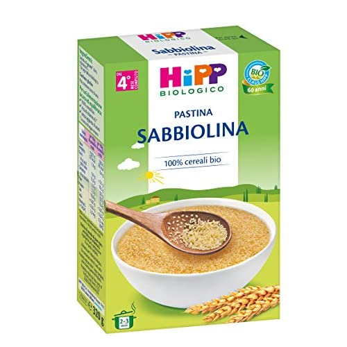 Hipp Pastina Sabbiolina - 12 Pacchi da 320 g
