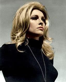Sharon Tate in Eye of the Devil Striking blonde hair black sweater 16x20 Poster