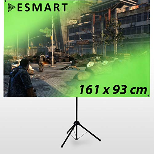 eSmart Germany X-Type Ultralightweight Greenscreen 161 x 93 cm | 70