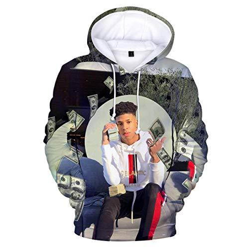 None Brand NLE Choppa Hoodie Sweater Boys and Girls Fation SweatHoodie XL 4