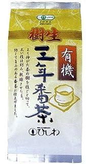 ひしわ 有機樹生三年番茶 80g
