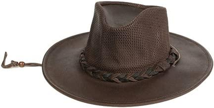 Minnetonka Western Hat Adult Airflow Fold Up Outback Black 9539