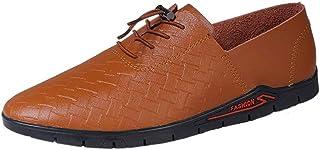 [ワイエルワイ] ビジネス シューズ 防滑 メンズ 軽量 ドライビング 通気 カジュアル 革靴 ハイキング