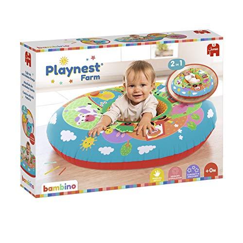 Bambino - Playnest Farm - Manta de actividades para bebés a partir de 0 Meses