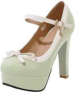 Best zara medium heel court shoes with bow Reviews
