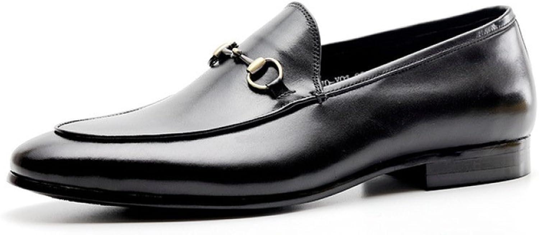 DHFUD Sommer Herrenschuhe Kleid Business Business Casual Schuhe  Schnelle Lieferung