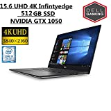 Dell XPS 15.6' 4K InfinityEdge touch High performance Laptop | Intel Core i5-7300HQ 2.5 GHz | 12GB DDR4 | 512GB SSD | Quad-core | Nvidia GeForce GTX 1050 | Backlit Keyboad | WIN10