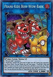 Yu-Gi-Oh! Singles - Prank-Kids Bow-Wow-Bark - HISU-EN021 - Super Rare - 1st Edition - Hidden Summoners