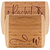 Personalized Cutting Board, 3 COLOR, Premium Wood Handle Cutting Board - Personalized Gifts - Wedding Gifts for the Couple, Engagement Gifts, Real Estate Agent Closing Gifts