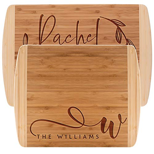 Personalized Cutting Board, 2 SIZES - Bamboo Cutting Board - Personalized Gifts - Wedding Gifts for the Couple, Engagement Gifts, Gift for Parents, Custom Gifts
