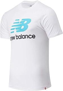 تي شيرت New Balance رجالي بشعار NB Essentials Stacked