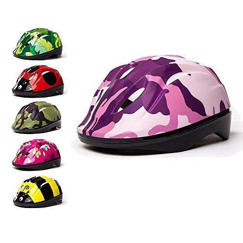 3StyleScooters® SafetyMAX® Casco para Niños - 6 Diseños Increíbles Bicicleta y Patinete...
