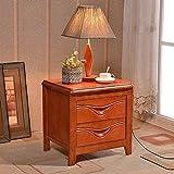 Mesa Auxiliar Mobili per La Casa European Shabby Chic Wood Quarto Cabinet Mueble De Dormitorio Muebles De Dormitorio Mesita De Noche (Color: Versión V) Inicio