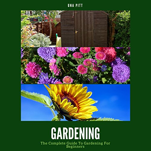 Gardening audiobook cover art