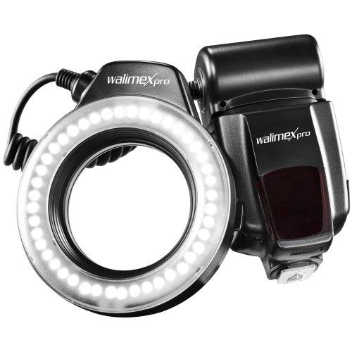 Walimex Pro 17904 - Flash anular, Negro