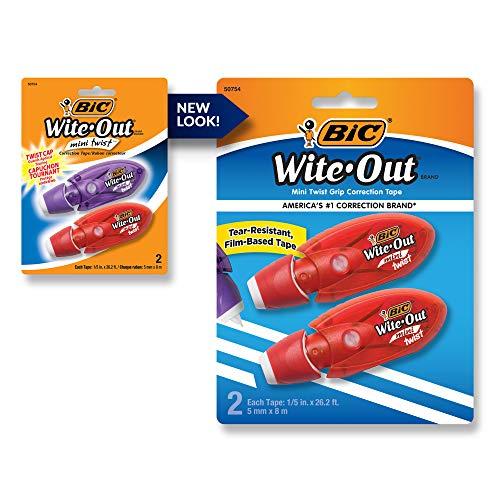BIC Wite-Out Brand Mini Twist Corre…