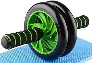 HONEI 腹筋ローラー アクササイズウィル 超静音 アブホイール スリムトレーナー エクササイズローラー 膝を保護するマット付き