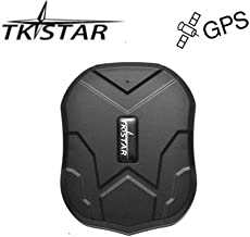 TKSTAR GPS Tracker,GPS Tracker for Vehicles Waterproof Real Time Car GPS Tracker Strong Magnet Tracking Device For Motorcycle Trucks Anti Theft Alarm TK905