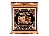 ERNIE BALL 2550 Everlast Coated PHOSPHOR BRONZE EXTRA LIGHT アコースティックギター弦 ×3セット