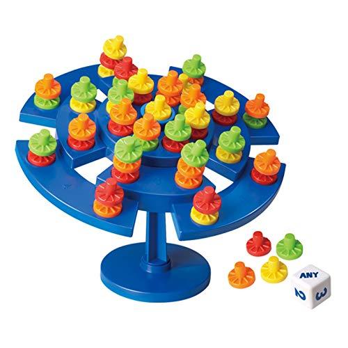 Generic Mesa de equilibrio apilable para apilar piezas coloridas, mientras que el árbol se mantiene en equilibrio, juego de diversión interactivo